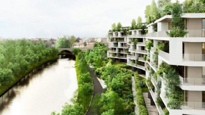 Architettura sempre più verde: il bosco verticale di Treviso