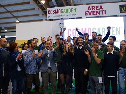 Premiazione vincitori della Coppa Cosmogarden 2019