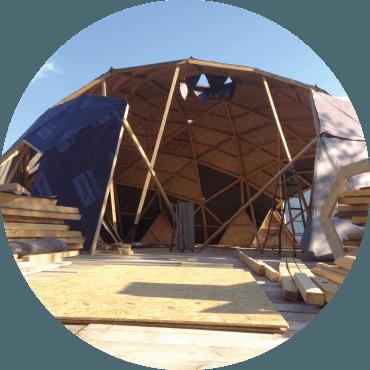 Cupole geodetiche in legno